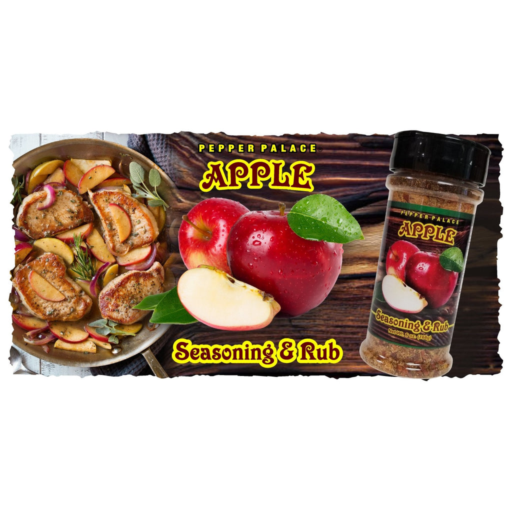 Pepper Palace Zesty Apple Rub