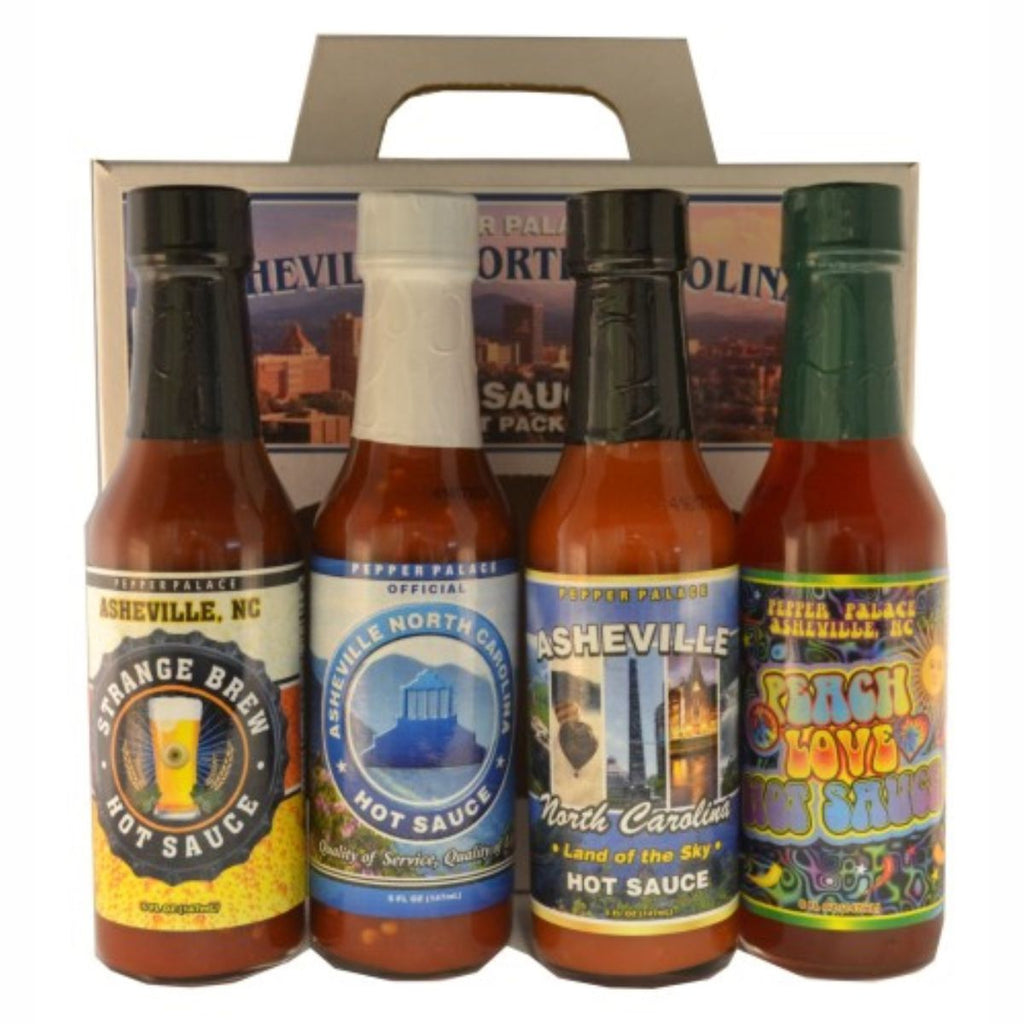 Pepper Palace Asheville Hot Sauce Gift Pack