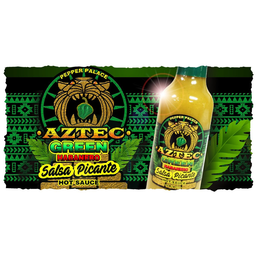 Pepper Palace Aztec Green Habanero Salsa Picante