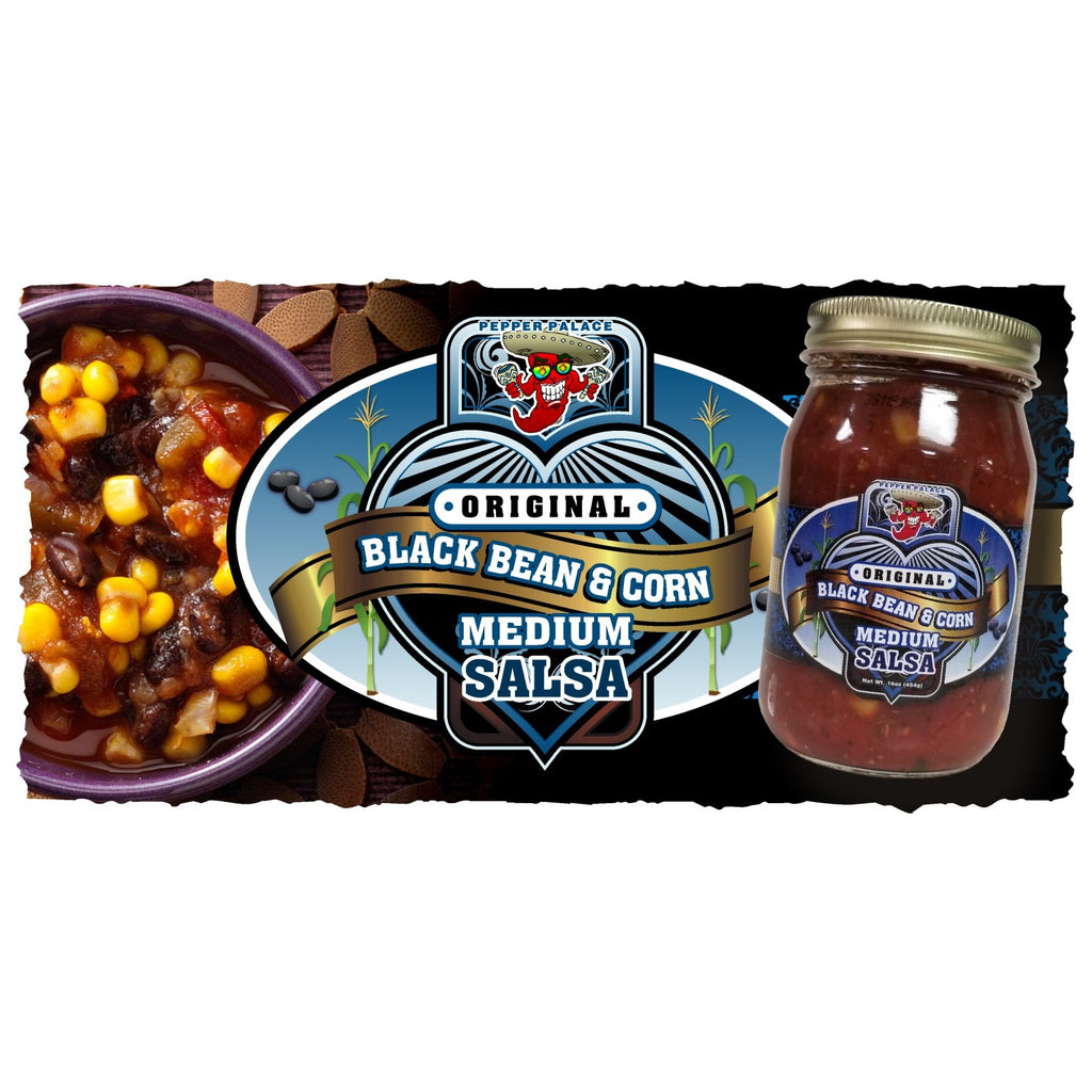 Original Black Bean and Corn Salsa - Medium