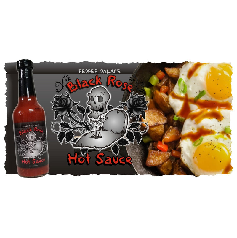 Pepper Palace Black Rose Hot Sauce