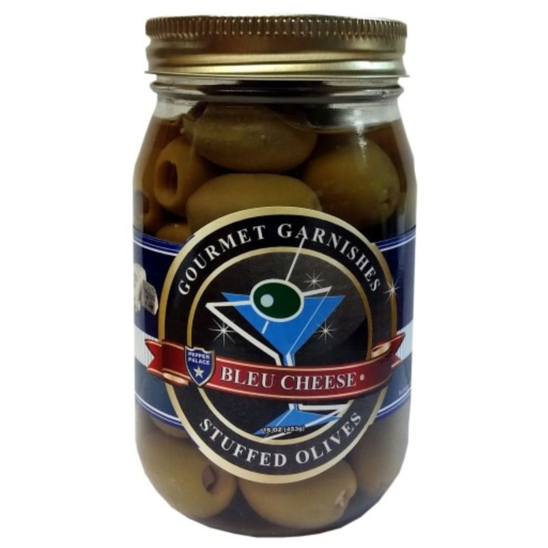 Pepper Palace Gourmet Garnishes Blue Cheese Olives