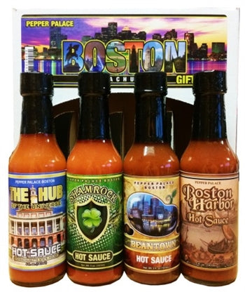 Pepper Palace Boston Massachusetts Gift Pack