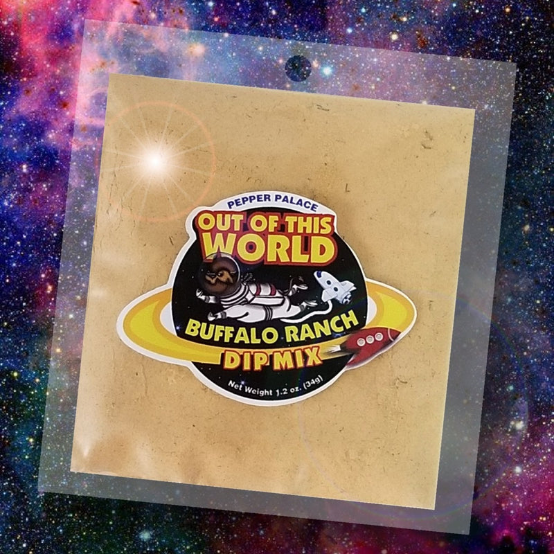 Pepper Palace Out of this World Dip Mix Buffalo Ranch
