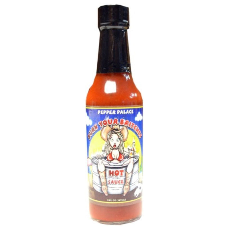 Pepper Palace Burn Your Britches Hot Sauce