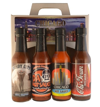 Pepper Palace Chicago Hot Sauce Gift Pack