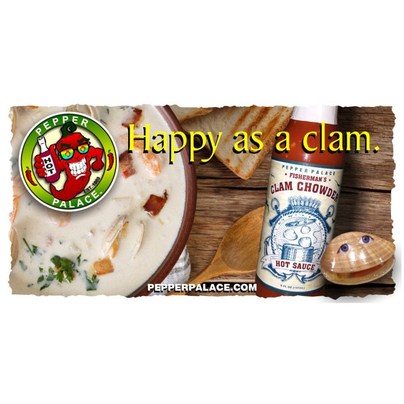 Fishermans Clam Chowder Hot Sauce