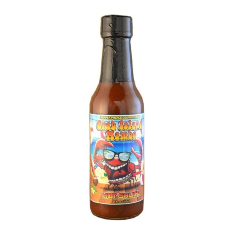 Pepper Palace Destin Crab Island Mambo Hot Sauce