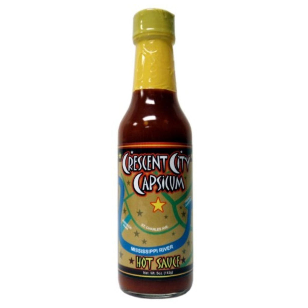Pepper Palace New Orleans Crescent City Capsicum Hot Sauce