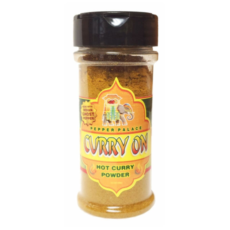 Pepper Palace Curry On Hot Curry Powder