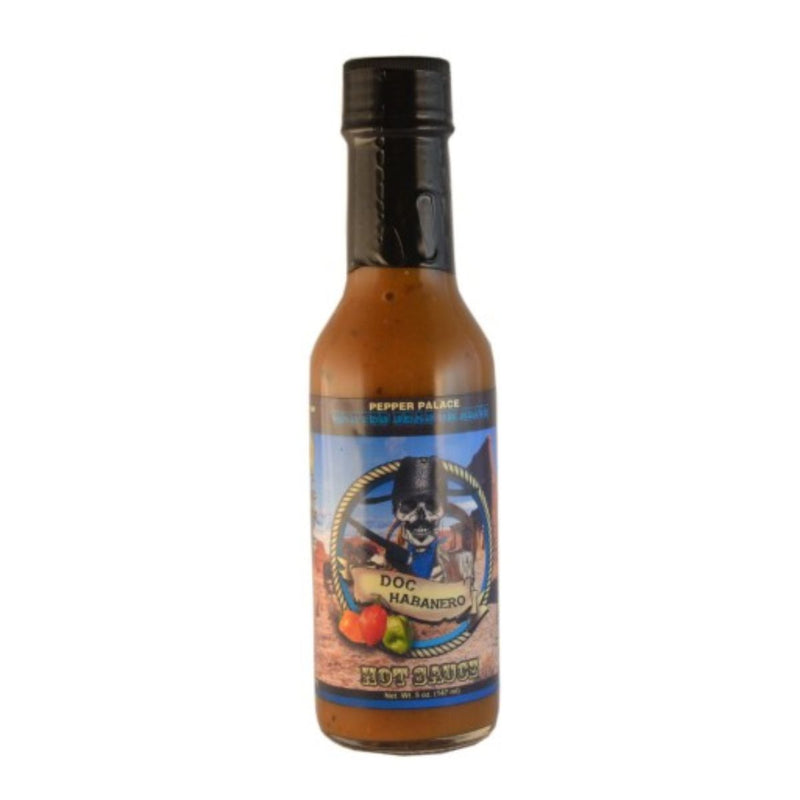 Pepper Palace Doc Habanero Hot Sauce