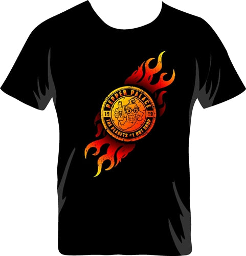 Pepper Palace Flame Logo TShirt
