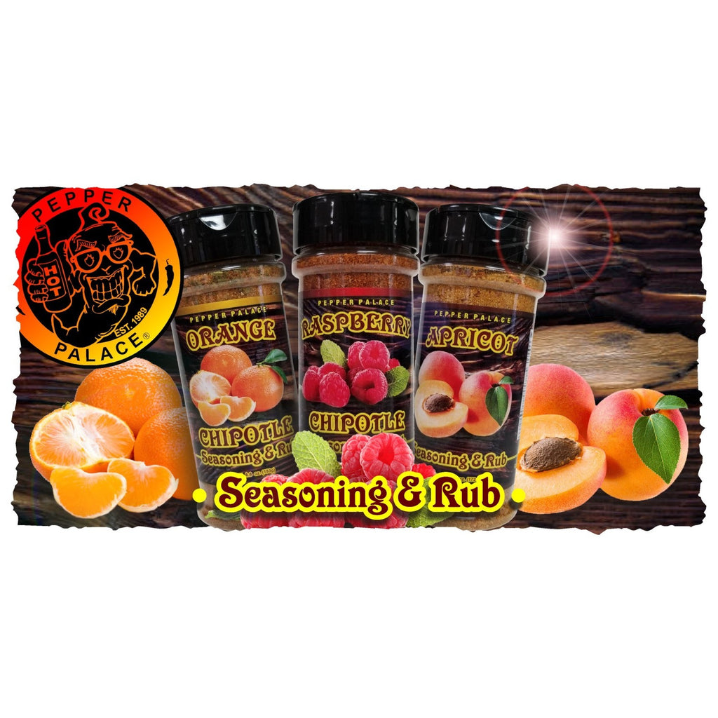 Pepper Palace Apricot Seasoning & Rub