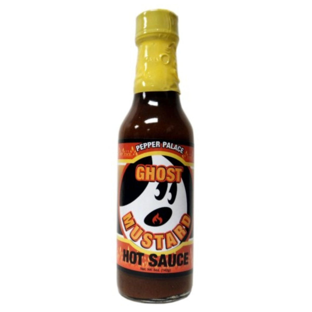 Pepper Palace Ghost Mustard Hot Sauce