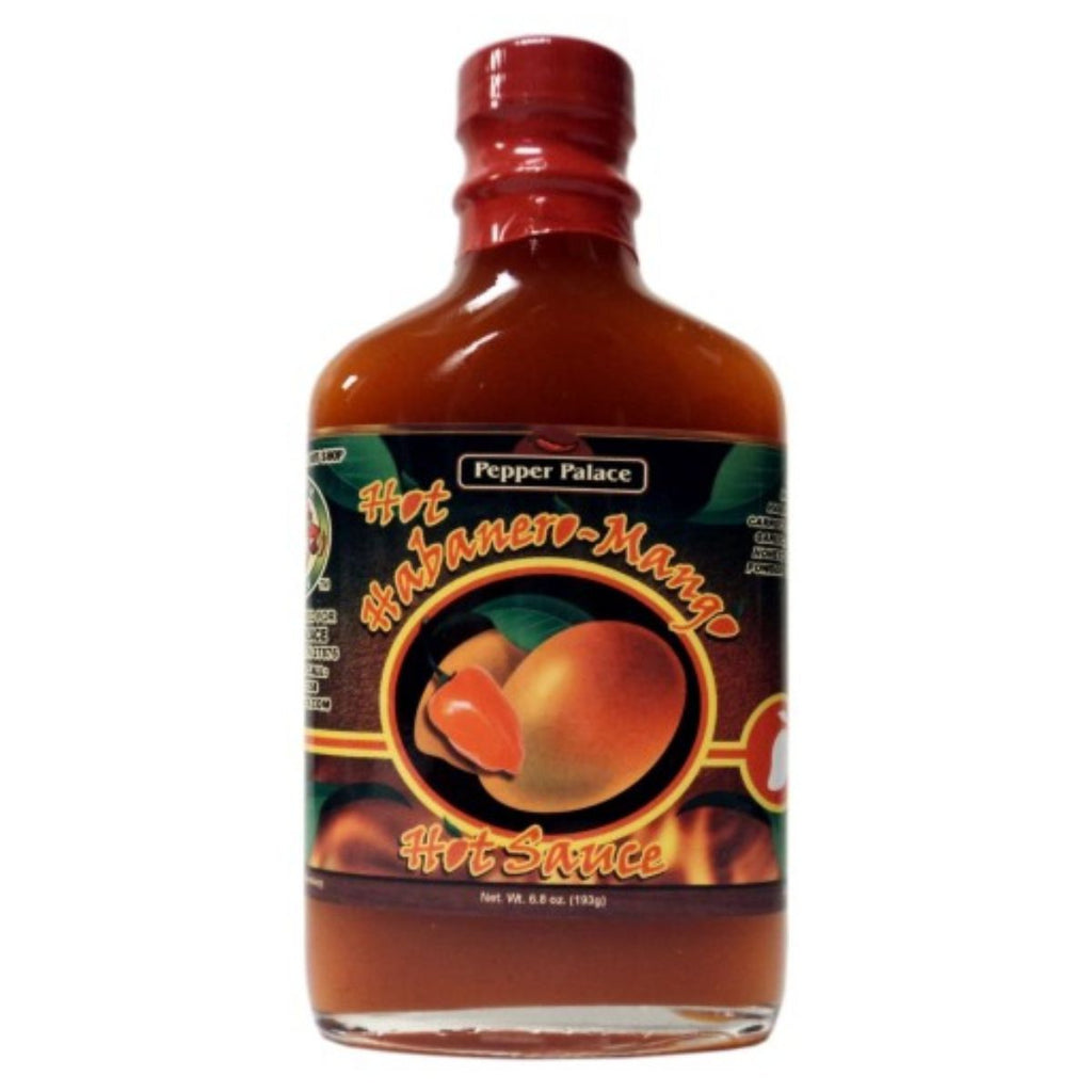Pepper Palace Hot Habanero Mango Hot Sauce