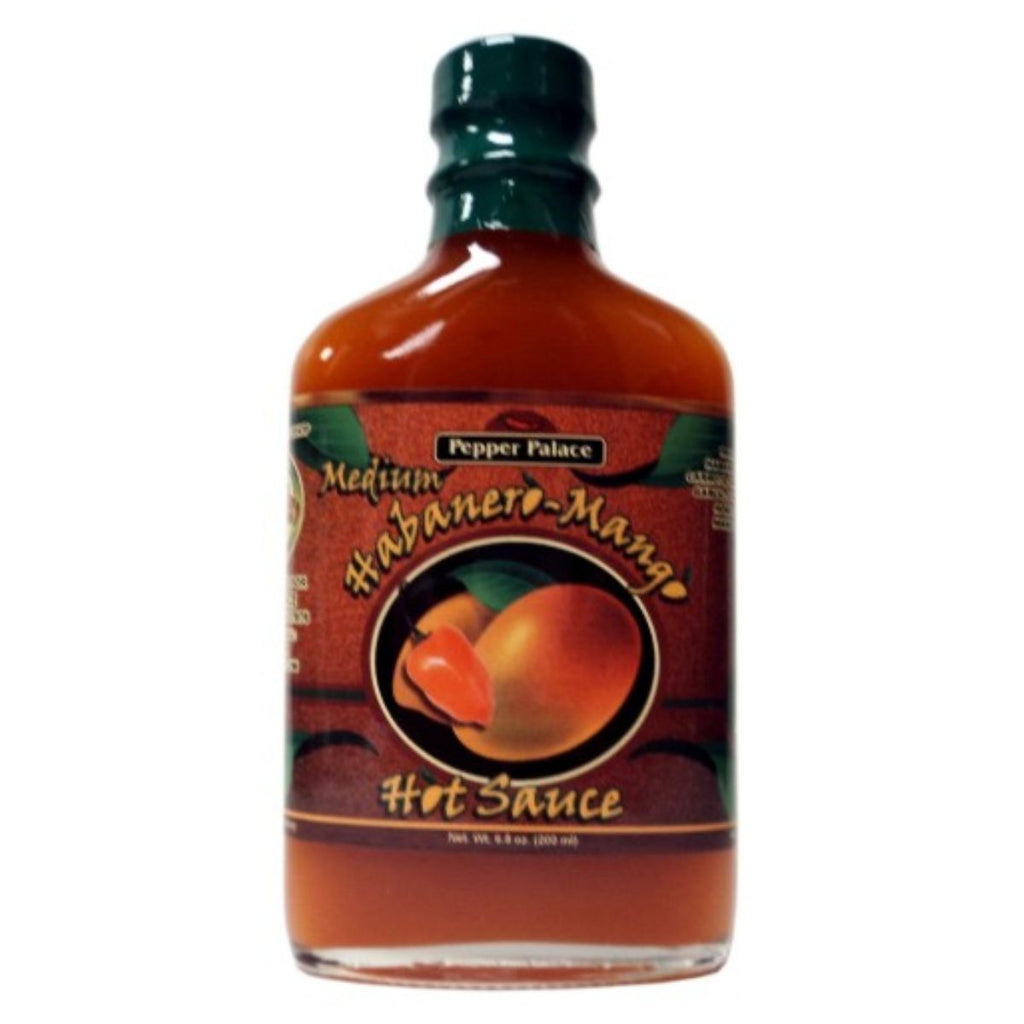 Pepper Palace Habanero Mango Medium Hot Sauce