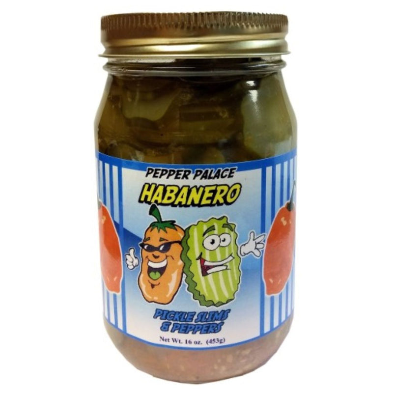 Pepper Palace Sweet Habanero Pickle Slims
