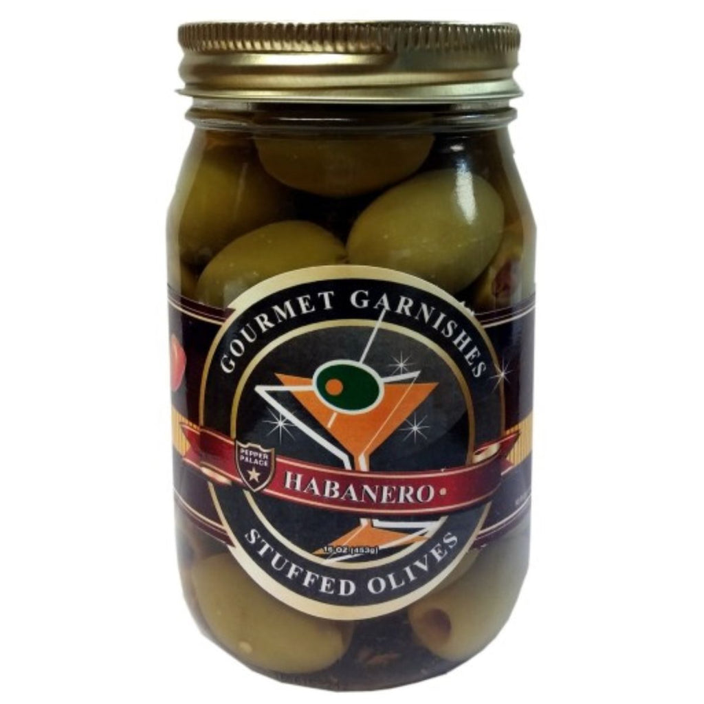 Pepper Palace Gourmet Garnishes Habanero Olives