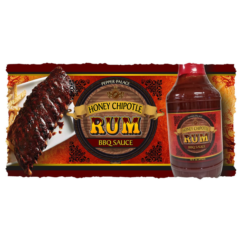 Honey Chipotle Rum BBQ-