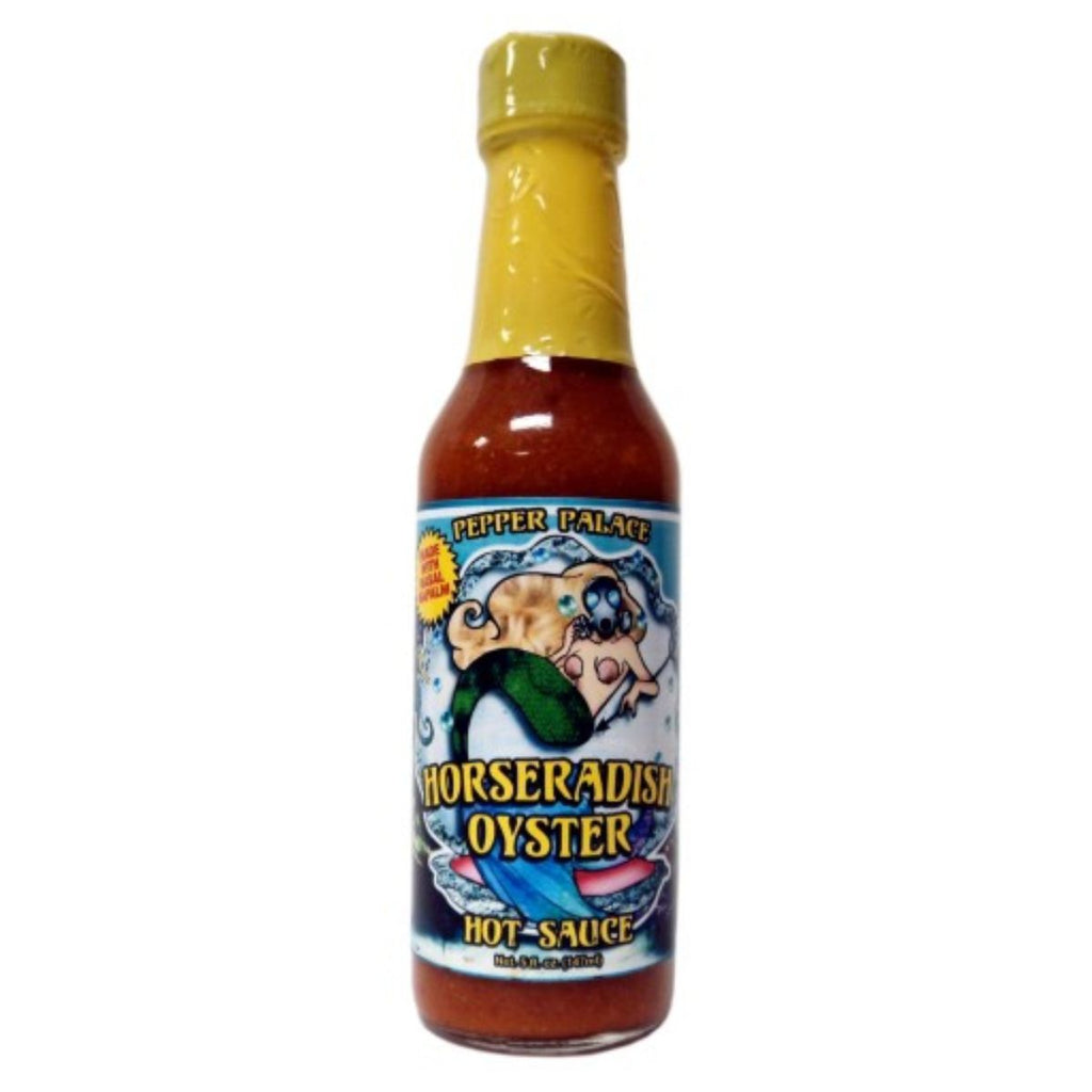 Pepper Palace Horseradish Oyster Hot Sauce