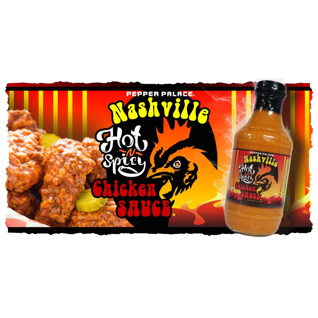 Nashville Hot N Spicy Chicken Sauce