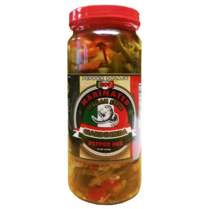 Pepper Palace Hot Giardiniera