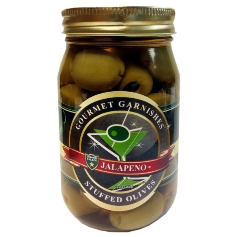 Pepper Palace Gourmet Garnishes Jalapeno Olives