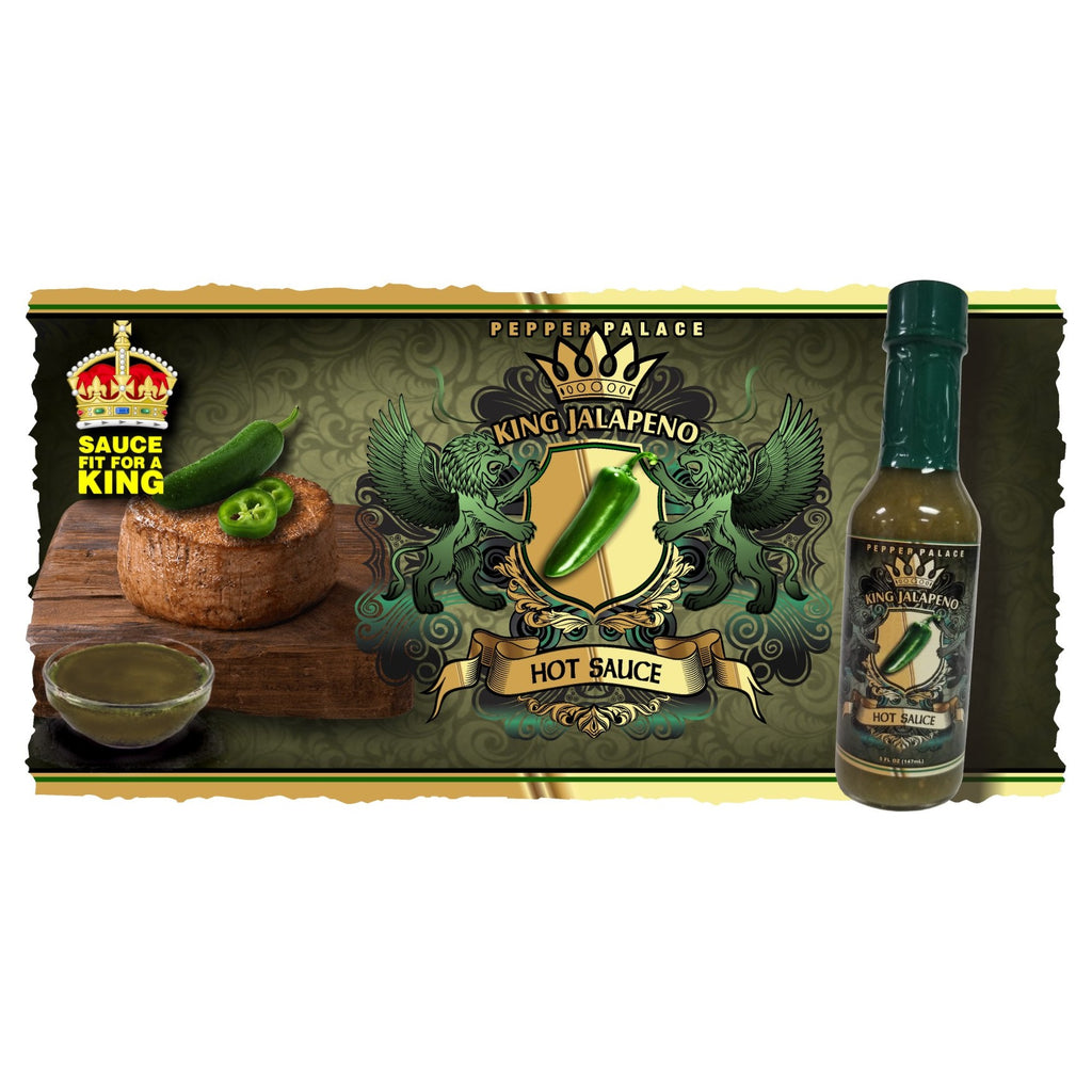 King Jalapeno Hot Sauce