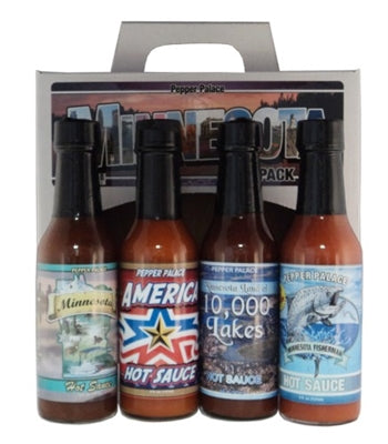 Pepper Palace Minnesota Hot Sauce Gift Pack