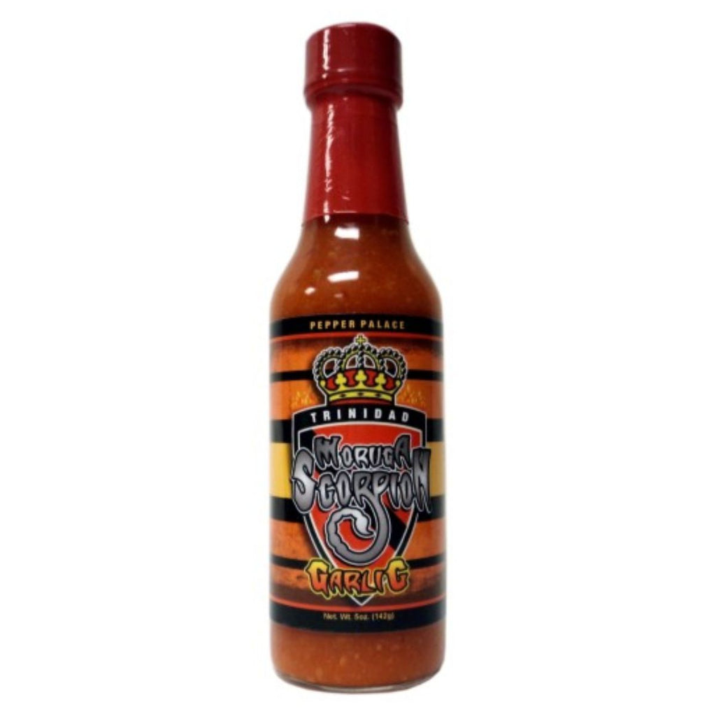 Pepper Palace Trinidad Moruga Scorpion Garlic Hot Sauce