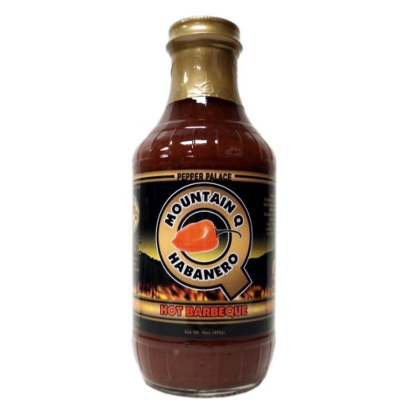 Pepper Palace Mountain Q Habanero Hot BBQ Sauce