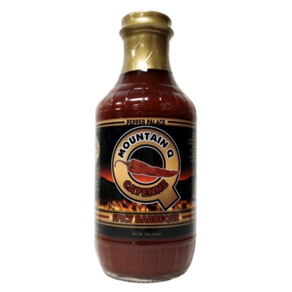 Pepper Palace Mountain Q Cayenne Spicy BBQ Sauce