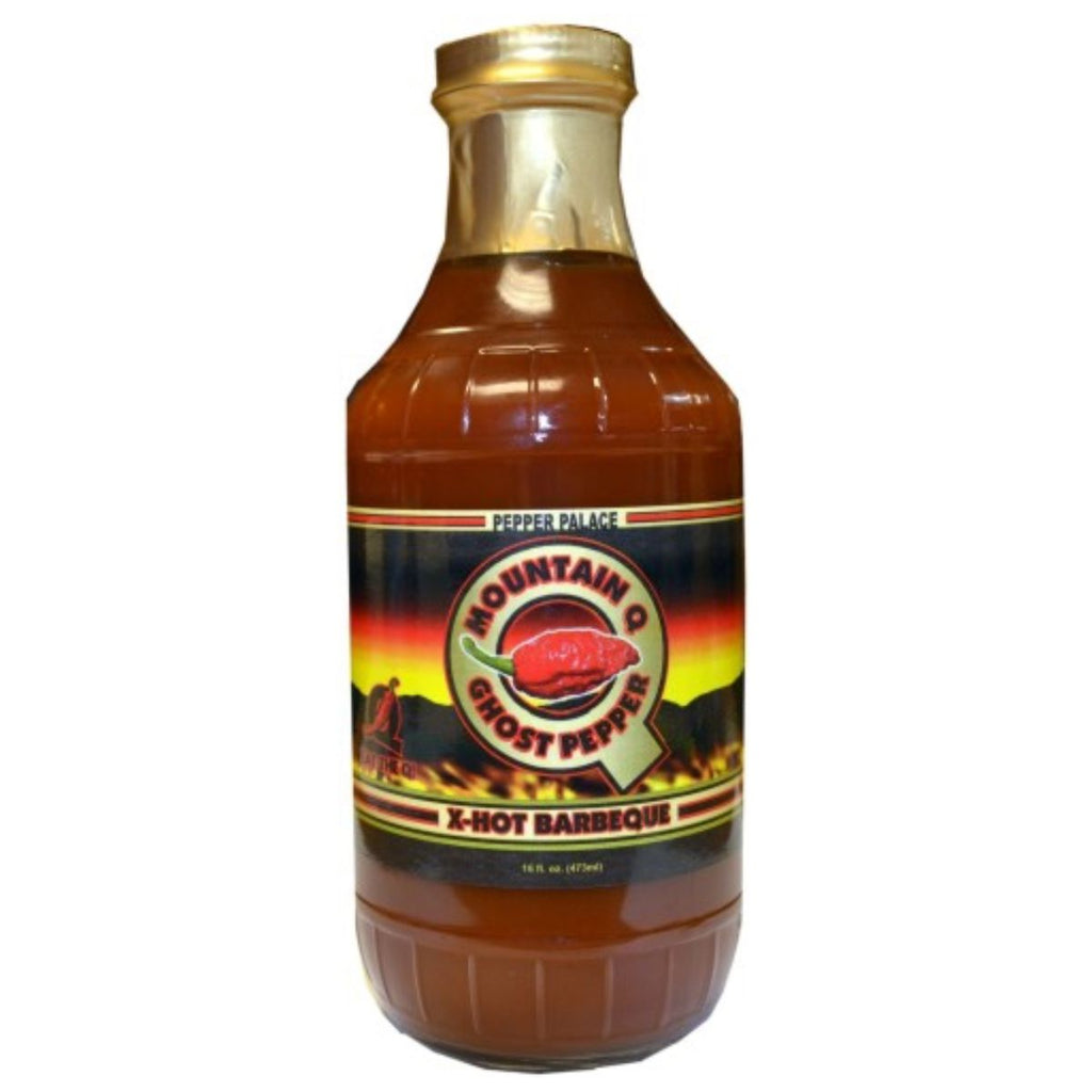 Pepper Palace Mountain Q Ghost Pepper BBQ Sauce
