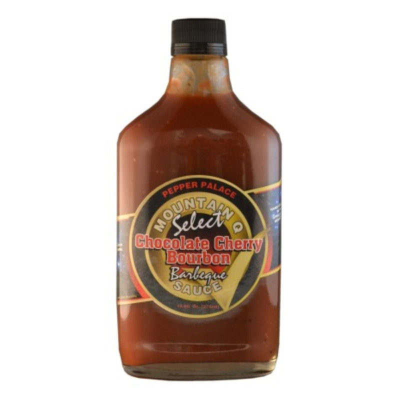 Pepper Palace Mountain Q Select Chocolate Cherry Bourbon BBQ Sauce