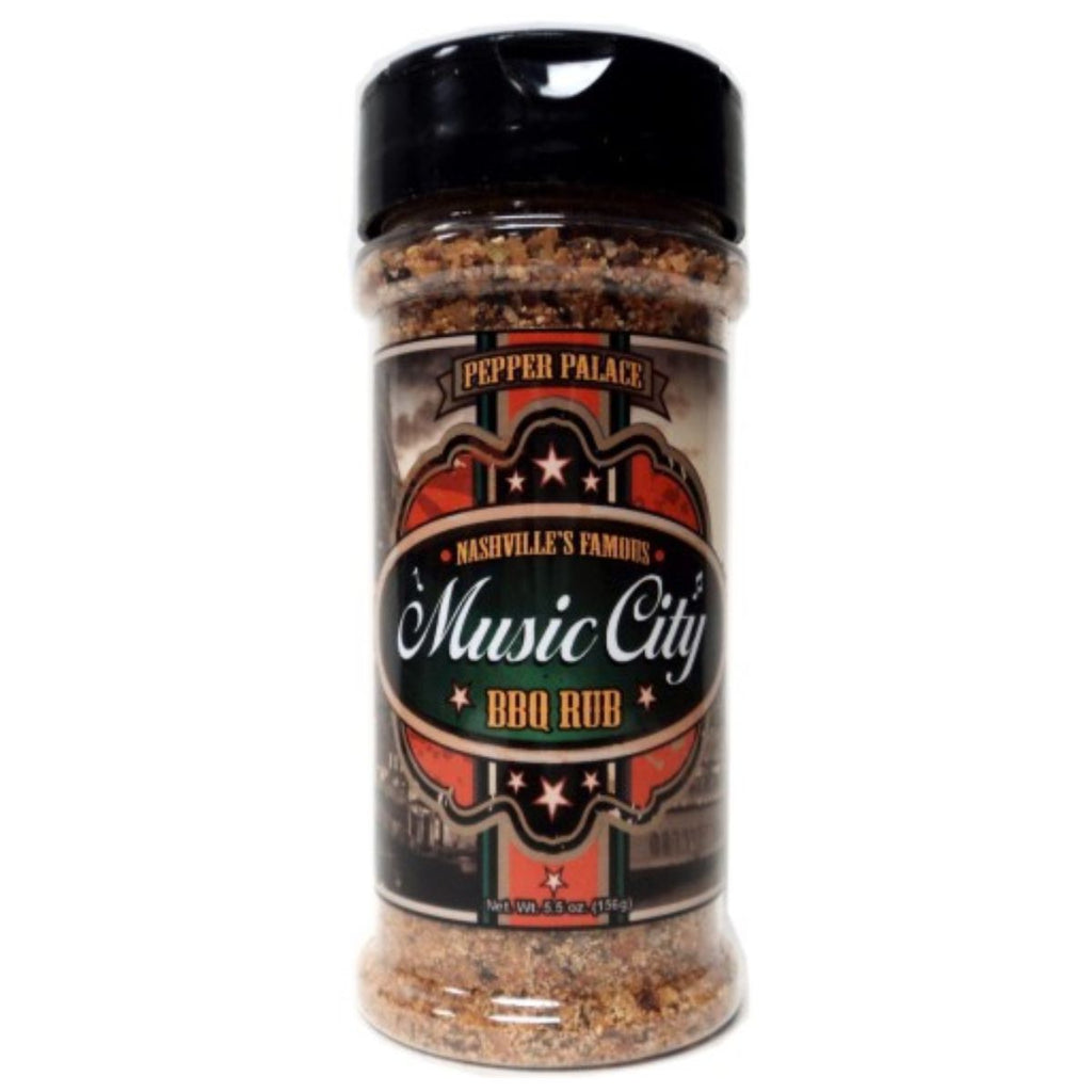 Pepper Palace Nashville Music City BBQ Rub