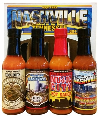 Pepper Palace Nashville Hot Sauce Gift Pack