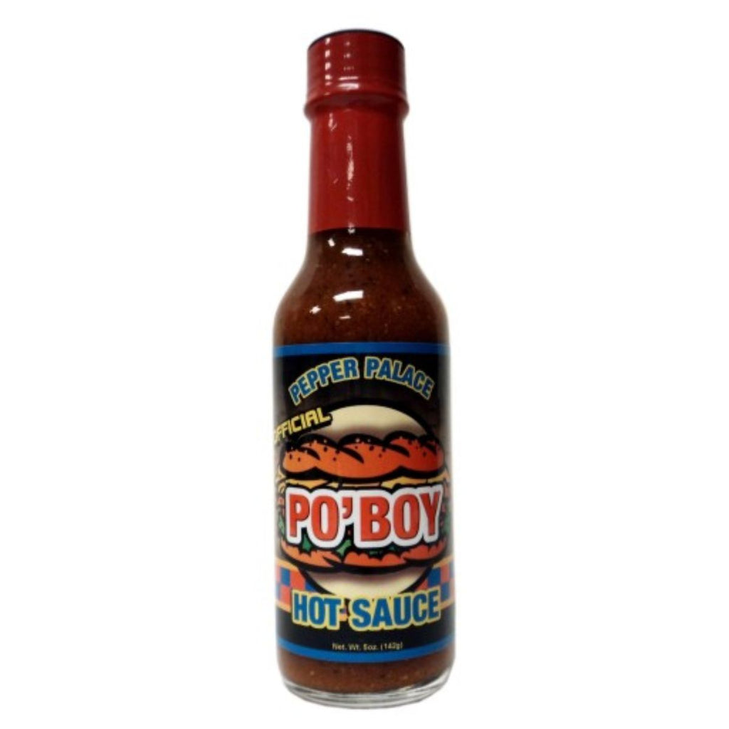 Pepper Palace New Orleans Po Boy Hot Sauce