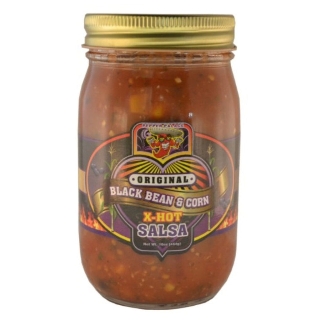 Pepper Palace Original Black Bean and Corn Salsa XHot