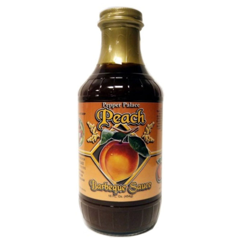 Pepper Palace Peach Fruit BBQ Sauce
