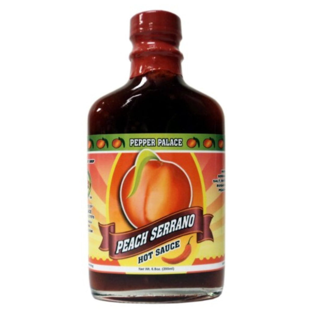 Pepper Palace Peach Serrano Hot Sauce