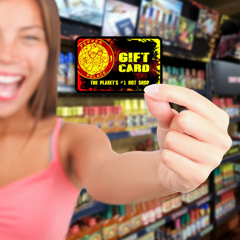 Pepper Palace Gift Card