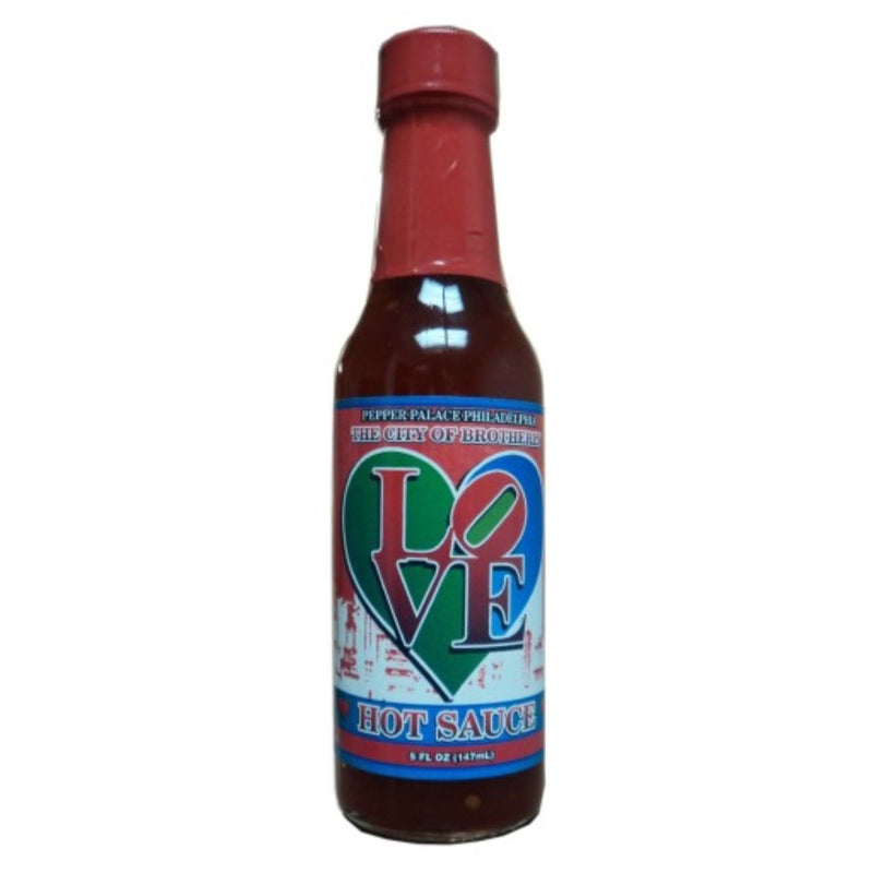 Pepper Palace Philadelphia City of Brotherly Love Hot Sauce