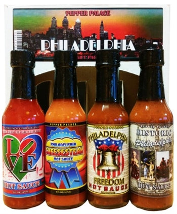Pepper Palace Philadelphia Hot Sauce Gift Pack