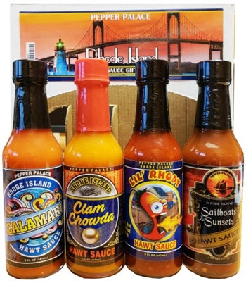 Pepper Palace Rhode Island Hot Sauce Gift Pack