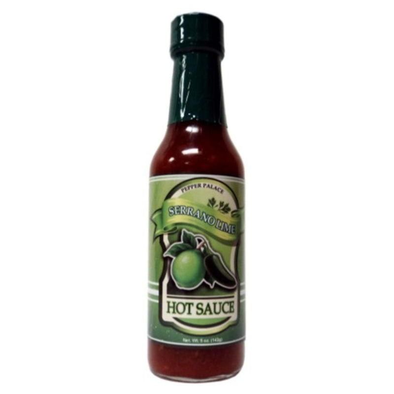 Pepper Palace Serrano Lime Hot Sauce