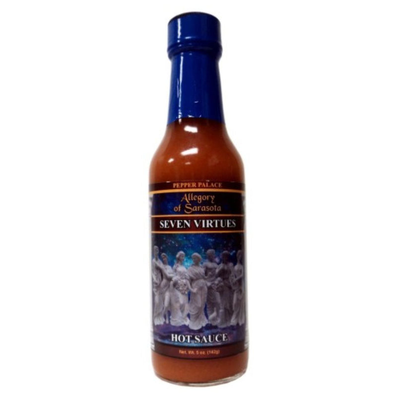 Pepper Palace Allegory of Sarasota Seven Virtues Hot Sauce