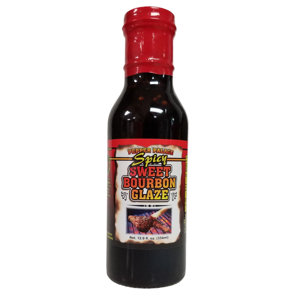 Pepper Palace Spicy Sweet Bourbon Glaze