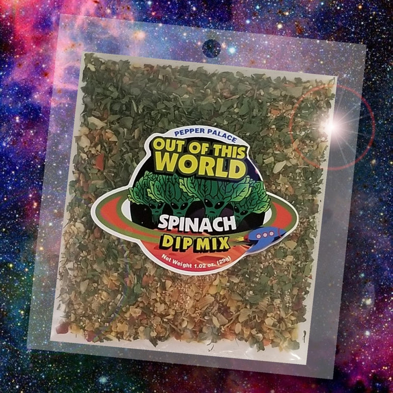 Pepper Palace Out of this World Dip Mix Spinach