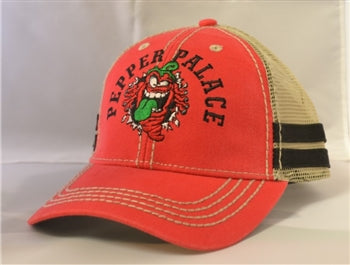 Pepper Palace Red Striper Hat