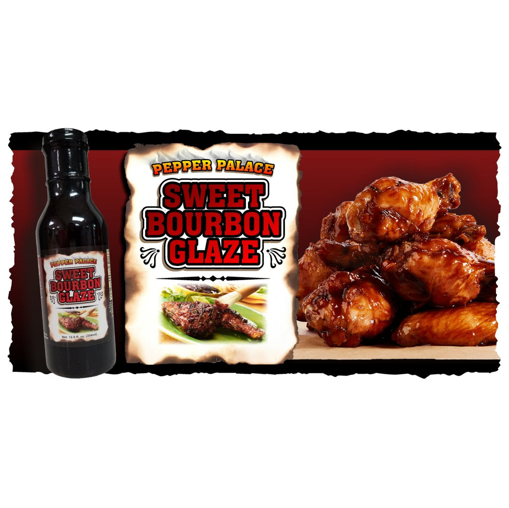 Sweet Bourbon Glaze with Chicken Wings